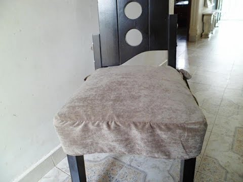 Forros para las sillas del Comedor - YouTube
