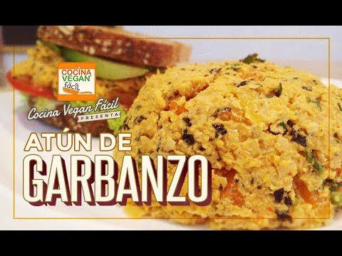 Atún de garbanzo (Garbatún) - Cocina Vegan Fácil