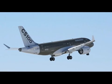 First Test Flight for the 3rd CSeries aircraft (FTV3)