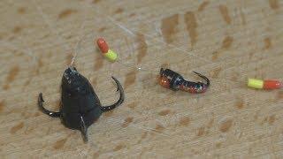 Снасть на зимову вудку : ''Конус+ бігунок''. My fishing.