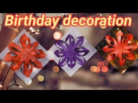 diy birthday decoration ideas at home  very easy