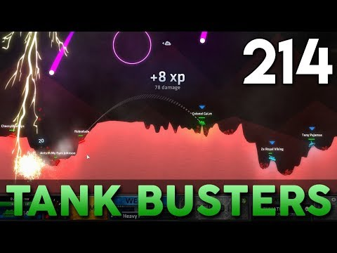 [214] Tank Busters (Let's Play ShellShock Live w/ GaLm and Friends)