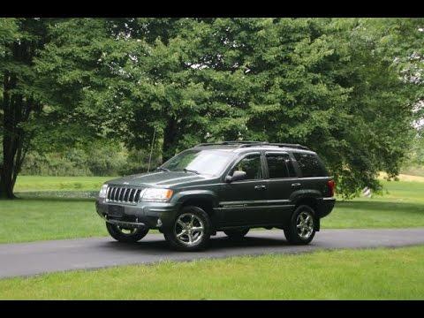 2004 jeep grand cherokee overland youtube. Black Bedroom Furniture Sets. Home Design Ideas