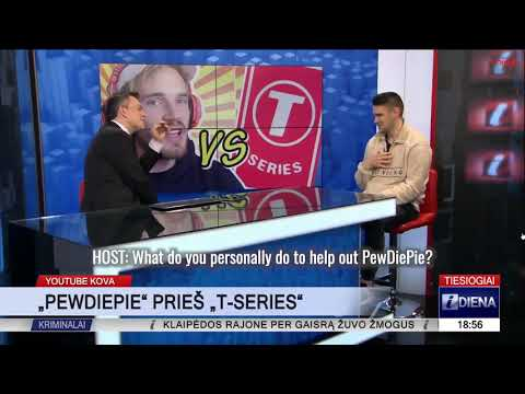 LITHUANIA IS DOING ITS PART | PewDiePie Subscriber Battle