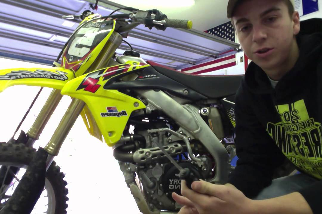 How To Change The Oil On A RMZ 450 2013 Pt 3