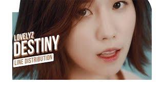 Lovelyz - Destiny (Line Distribution)