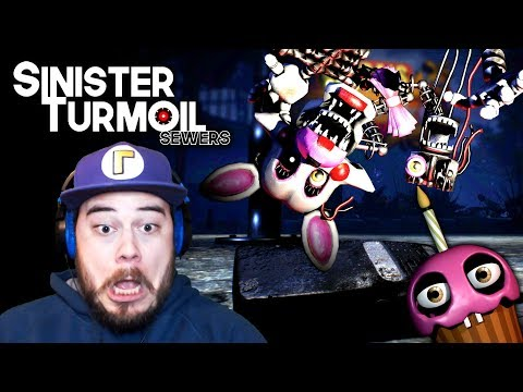 I ESCAPED FROM MANGLE!!... but I broke the game... | FNAF Sinister Turmoil Sewers (ENDING!) |