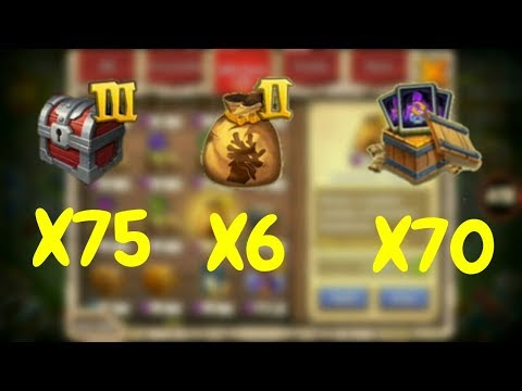 Opening Up Warehouse Stuff & A Lot More L Castle Clash