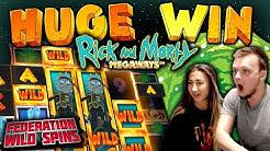 MEGA BIG WIN on Rick and Morty Bonus Buys!