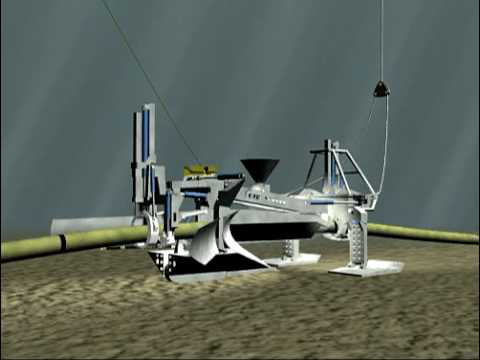 CTC Marine AMP500 Pipeline Plough Animation