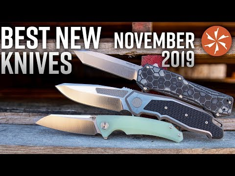 Best New Knives Of November 2019 Available At KnifeCenter.com