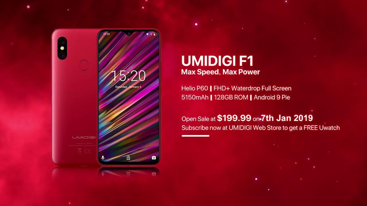 Обзор смартфона UMiDIGI F1, официальная распаковка