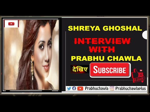 Seedhi Baat Shreya Ghoshal With Prabhu Chawla
