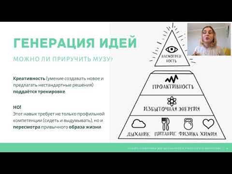 Образовательная программа: Алёна Протасова. У меня есть идея! Или как понять, что придумал ерунду?