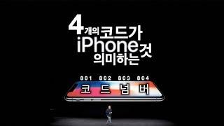 4개의 아이폰 코드가 의미하는 것 - 2018 차세대 아이폰 (가칭 아이폰9) 관련 -