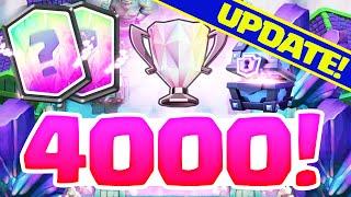 Clash Royale Update - 4,000 Trophy Legend RESET!