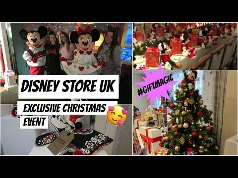 Exclusive Disney Store UK event vlog | Breakfast and private shopping | #GIFTMAGIC
