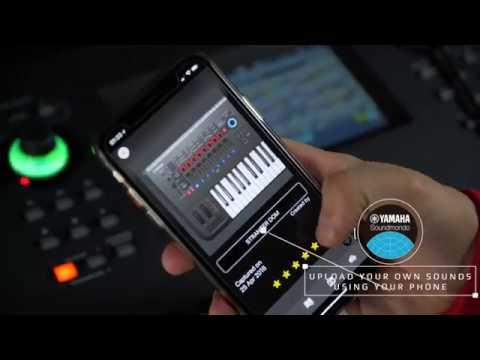 Soundmondo Social Sound Sharing for Yamaha MONTAGE