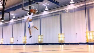 6'1 :: Windmill Dunk, over Someone :: Jordan Kilganon Video