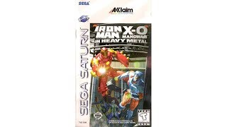 Iron Man/X-O Manowar in Heavy Metal Review for the SEGA Saturn