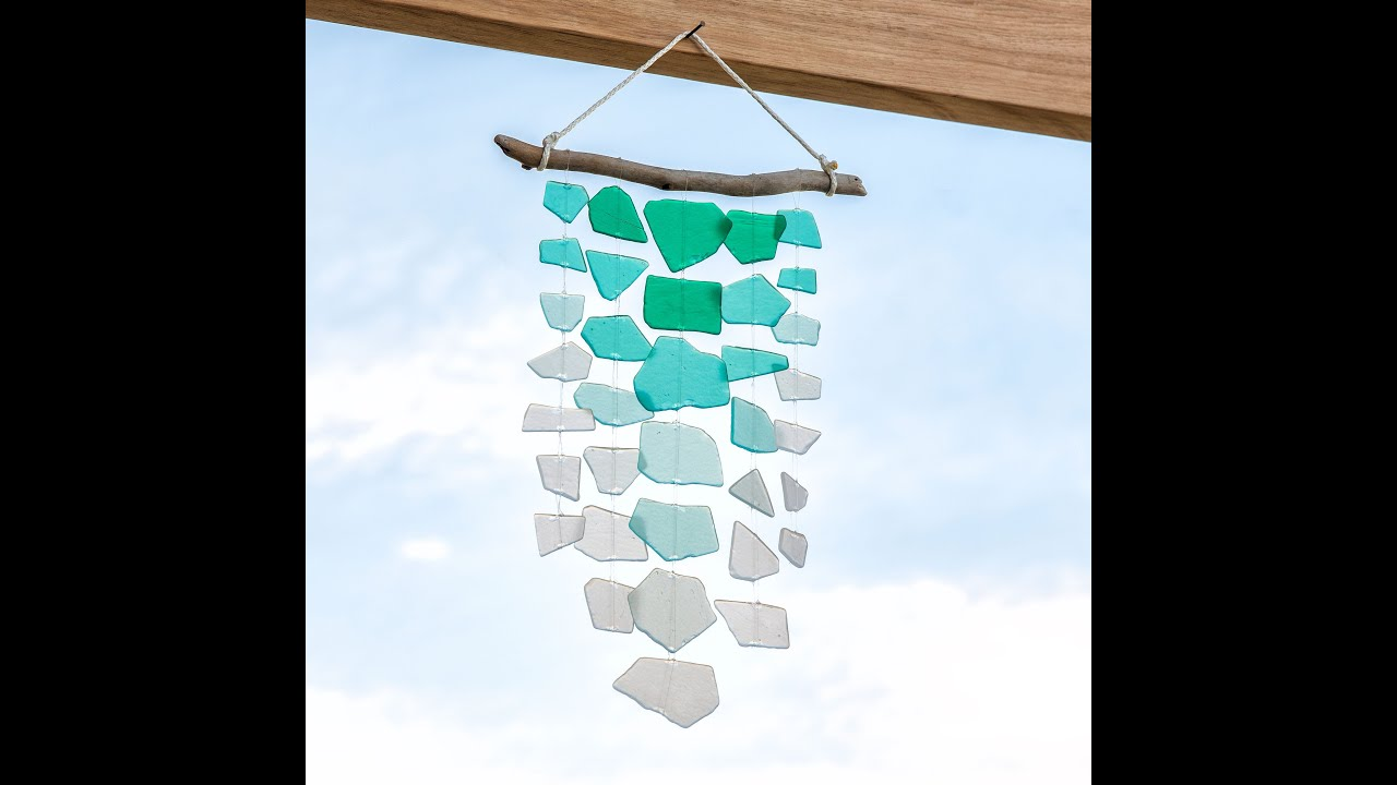 Diy Wind Chimes Diy Wind Chimes Summer Craft Apostrophe S Sea Breeze Youtube