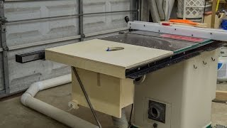 Table Saw Extension Wing For A Router Lift - 188