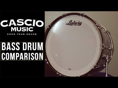 Bass Drum Comparison | Cascio Jam Session