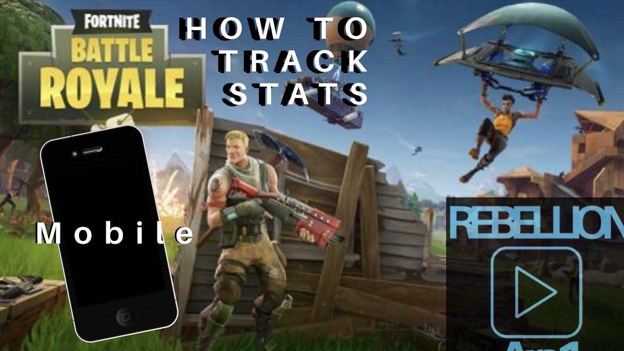 How To Track Fortnite Stats via Mobile