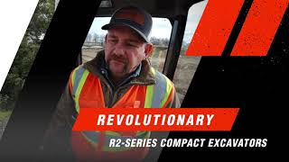 Video still for Bobcat Introduces 6-Ton R2-Series E60 Compact Excavator