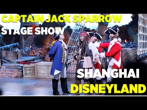 """Eye of the Storm - Captain Jack's Stunt Spectacular"" show at Shanghai Disneyland"