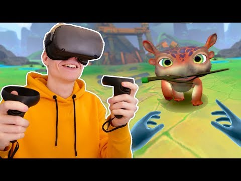 Virtual Reality Pet Simulator! Bogo VR (Oculus Quest Gameplay)