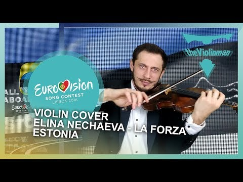 EUROVISION 2018   Elina Nechayeva - LaForza   Estonia  Violin cover by theViolinman