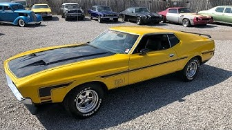 Test Drive 1972 Ford Mustang Mach 1 Fastback SOLD for $13,900 Maple Motors