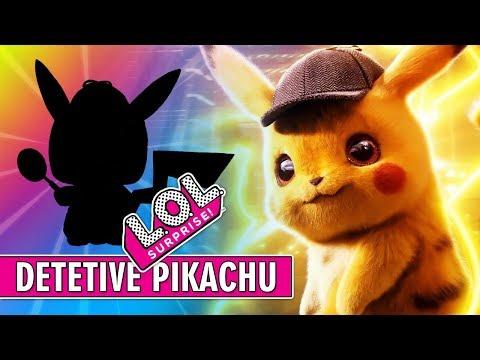 Pokemon Detetive PIKACHU virou LOL Surprise (LOL PET Ultra Rara) PalitoMania