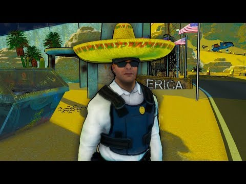 I am Canadian Running The US and Mexico Border - Border Force |