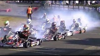 Super 1 Karting 2016: Rd 1, Rowrah Part 6 | British Karting Championship Racing