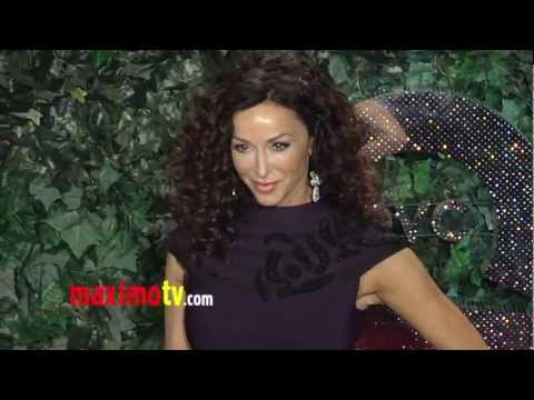 Sofia Milos QVC Style Party 2013 Red Carpet ARRIVALS thumbnail