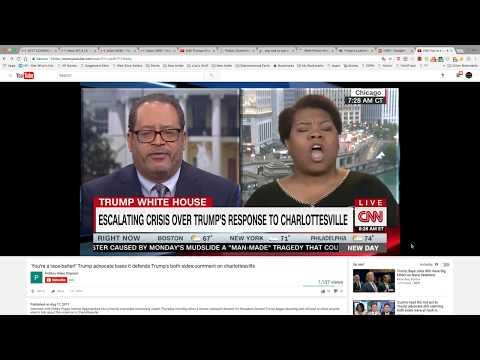 Micheal Eric Dyson vs. Ms Coonette Debate Donald Trump