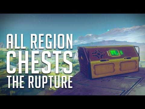 ALL The Rupture, IO Gold Region Chest Locations  Destiny 2