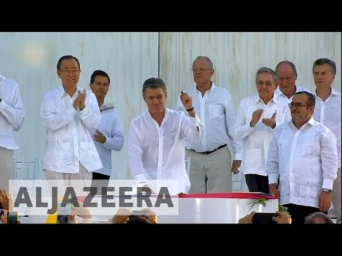 Colombia: President's Nobel Peace Prize boosts hopes for peace