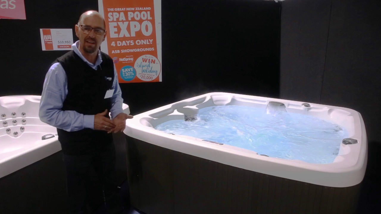 Jacuzzi Pool Youtube The Top Selling Model From Islander Spas Kapiti Is On Sale At The