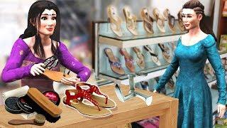लालची चप्पलवाला Hindi Kahaniya - Hindi Bedtime Moral Stories - Panchatantra Stories -  Fairy Tales