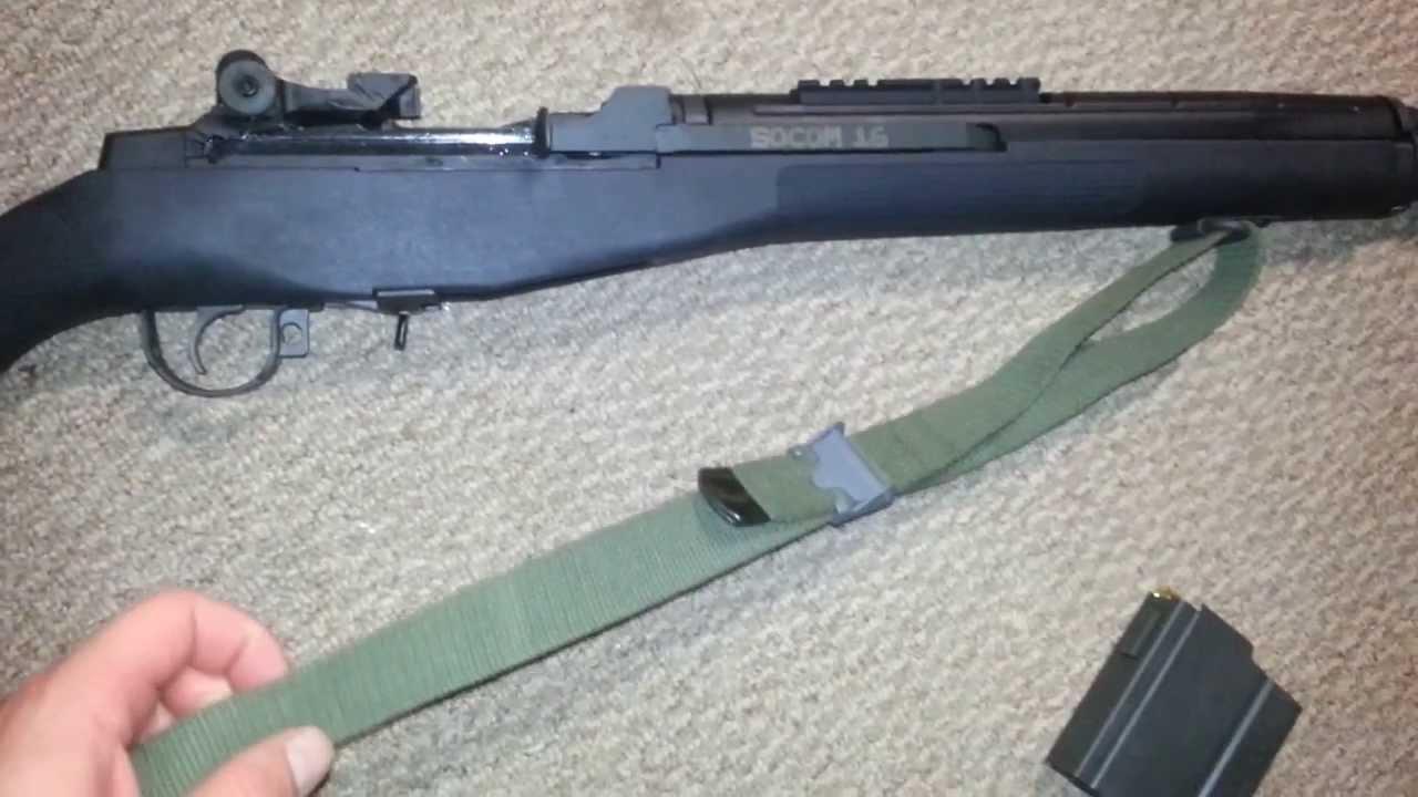 M1A SOCOM 16 / M14 Review