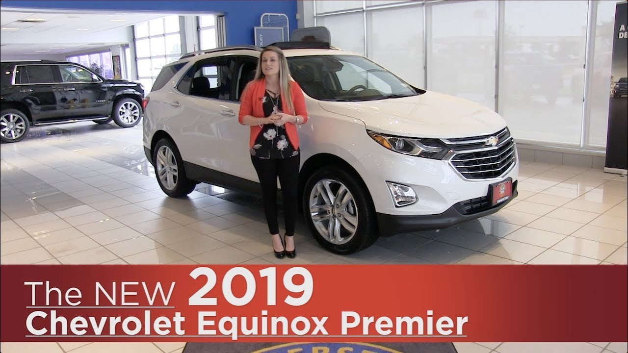 2018 Chevy Equinox >> New 2019 Chevrolet Equinox Premier - Mpls, St Cloud, Monticello, Buffalo, Rogers, MN - Review ...