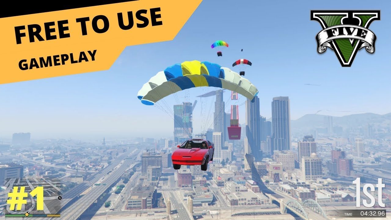 Gta V Gameplay  Free To Use P Fps