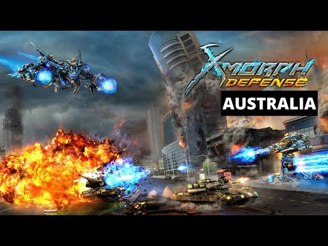 X-Morph: Defense Australia Gameplay Walkthrough