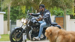 Jomonte Suvisheshangal | Dulquer's 18 lakh worth bike! | Mazhavil Manorama