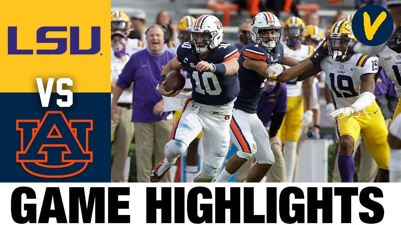 Lsu Vs Auburn Highlights Week 9 2020 College Football Highlights Youtube