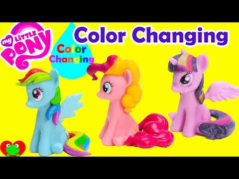 Thumbnail: My Little Pony Color Changing Magic Bath Figures