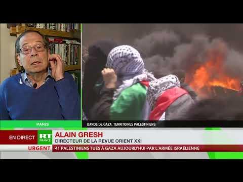 Gaza : «Ce ne sont pas des heurts ou des affrontements, c'est un massacre»